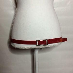 Accessories - Red Belt E1